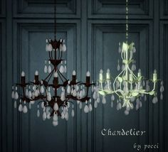 Chandelier by Pocci - Sims 3 Downloads CC Caboodle