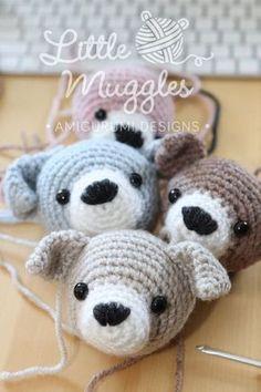Little Muggles | Puppy Beanbag Buddy Pattern