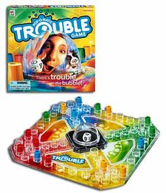 Popmatic Trouble Board Game oh yah Winston LOVED this game & always Won!:(