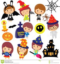 halloween-kids-clip-art-set-vector-file-can-be-scaled-to-any-sizes-losing-resolution-45186461.jpg 1,300×1,390 pixels