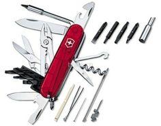 Victorinox Taschenmesser CyberTool rot, CHF 92 auf Brack.ch
