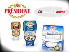 Gana un fantástico lote de productos Président con tu receta de queso