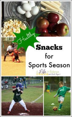 Healthy Snacks for Sports Season - When moms and kids are on the go for sports season, kids often have snacks in the car on the way to and from practice and games to keep them fueled for the long afternoon after school. What kids snack on matters just as much as what they eat at meal time.