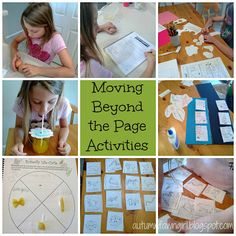 Moving Beyond the Page is a very creative and thorough curriculum. This curriculum is perfect for families who love unit studies with lots of hands-on projects. It also works well for parents who like to teach concepts that tie all of their child's subjects together and for parents who like to follow detailed, day-to-day lesson plans.
