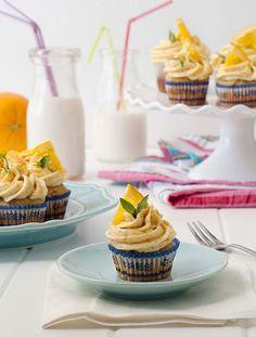 Gluten Free Honey Orange Cupcakes #Simplyglutenfree #Glutenfree