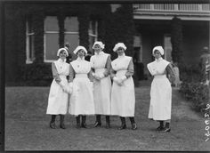 Photograph of group of nurses, possibly taken during the Royal Tour of the Duke and Duchess of York, taken 1927 by Crown Studios Ltd of Wellington. Duchess Of York, Duke And Duchess, Vintage Nurse, Nurse Stuff, Nurses, New Zealand, History, Beauty, Women