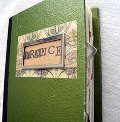 Travel journal.