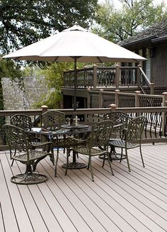 Environmentally Friendly Composite Decks | MoistureShield Composite Decking Idea Gallery