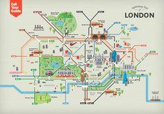 cartoon map of london - Google Search