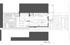 Plano de casa de dos pisos de pequeña dimensión
