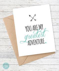 I love you card - Boyfriend Card  - Anniversary Card - Husband - Wife…                                                                                                                                                                                 Mais