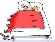 How to share a duvet