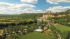Camping Le Capeyrou - Dordogne - Rivier en kasteel
