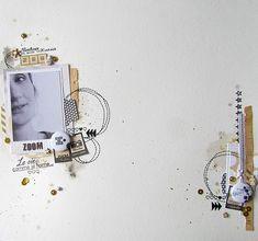 1 photo + scraps