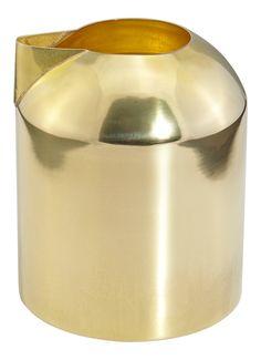 Godard Girl : The Taxonomies of Design - Tom Dixon Form Eclectic Milk Jug Gold Brass