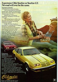 Oldsmobile Starfire  - my first car - except mine was a silver 1979