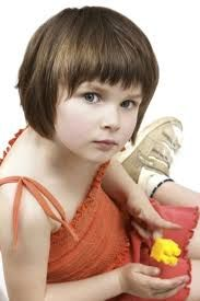 Image result for short hairstyles for little girls with thin hair