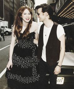 """""""Matt and Karen are both so brilliant. I'm not being flippant - they are honestly incredible and we're lucky to have them."""""""