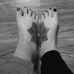 Mandala Tattoo for Sister Ideas