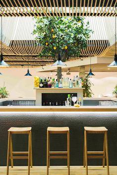 Restaurant at Hotel Azul, Suances, 2014 - ZOOCO Estudio