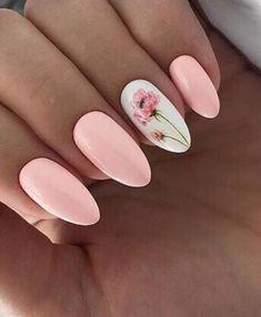 How to choose your fake nails? - My Nails Toe Nails, Pink Nails, Nailart, Chic Nails, Cute Acrylic Nails, Flower Nails, Nail Polish Colors, Manicure And Pedicure, Nails Inspiration