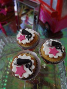 Cupcakes tema Show de Múscia