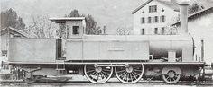 Dampflokomotive B 2/3 (VSB 45-46) Nummer 46 der VSB.