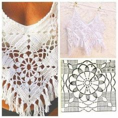 Crochet Boho Dress, Summer Dress, Beach Dress, Bikini cove The sun is high and the lemonade is sweet. It's summer, baby! And the crochet just won't st. Pull Crochet, Crochet Tunic, Crochet Crop Top, Diy Crochet, Crochet Clothes, Crochet Bikini, Crochet Tops, Crochet Motifs, Crochet Stitches