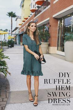 Merrick's Art // Style + Sewing for the Everyday Girl: DIY FRIDAY: RUFFLE HEM…