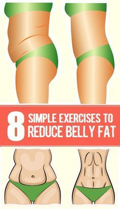8 Simple Exercises To Reduce Belly Fat..