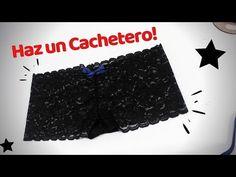 COMO HACER UN CACHETERO /DIY CACHETERO - YouTube Boxer Dama, Youtube, Disneyland, Sewing Patterns, Diy, Make It Yourself, Retro, Instagram, Aesthetics