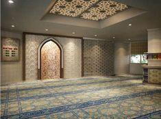 Design Inspirations for a Prayer Room at Home - CasaNesia Mosque Architecture, Architecture Design, Exterior Design, Interior And Exterior, Prayer Corner, Islamic Center, Islamic Decor, Islamic Prayer, Arabic Design