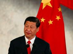 Chinese China President Xi Jinping Mexico Flag - Beijing vows justice after ISIS executes only known Chinese hostage, Nov. 19, 2015