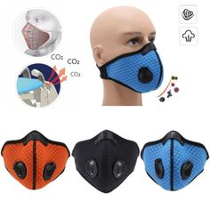 Have An Inquiring Mind Mouth Mask Cotton Cute Pm2.5 Anti Haze Black Dust Mask Nose Filter Windproof Face Muffle Bacteria Flu Fabric Cloth Respirator Masks