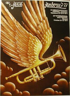 Jazz Jamboree 1977 poster by Rafal Olbinski Magritte Paintings, Polish Posters, Jazz Poster, Concert Posters, Music Posters, Festival Posters, Jazz Art, School Of Visual Arts, Smooth Jazz