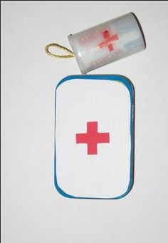 Remember making First Aid Kits in film canisters?  Everything a Girl Scout needed in a waterproof container.