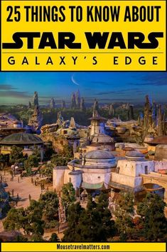 Galaxy& Edge, the new attraction at Disney's Hollywood Studios, will take you inside the world of Star Wars with your own story and missions which is more immersive than just an open theme park where you wander around to various shops and rides Walt Disney World Vacations, Disney Travel, Disney Parks, Disney Destinations, Disney Bound, Disney Rides, Disney World Tips And Tricks, Disney Secrets, Disney World Planning