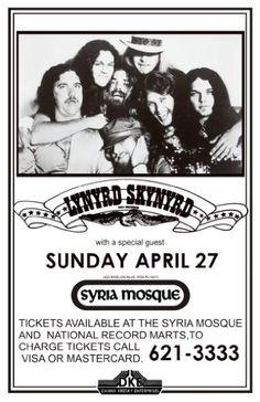 Lynyrd Skynyrd Show Sunday April 27 LIVE 11x17 Rare Very Limited Concert Poster Print Only One on Amazon Music Wallz,http://www.amazon.com/dp/B007R5M37E/ref=cm_sw_r_pi_dp_pwJlsb0YJ2HNB55Y