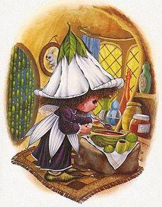 Victoria Plum by Angela Rippon Sarah Kay, Plum Art, Victoria Plum, Decoupage, Kobold, Cicely Mary Barker, Fairytale Art, Holly Hobbie, Gif Animé