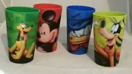 NEW! DISNEY Parks MICKEY MOUSE & Friends Cup Set Lenticular PLUTO DONALD GOOFY