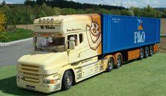 "Europäische Lkw`s » SCANIA T 580 Longline ""DREAMLINER"""