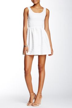 Sleeveless Texture Stripe Knit Dress by Love...Ady on @nordstrom_rack