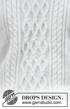 Siberia / DROPS 185-2 - Pull homme tricoté avec des torsades, en DROPS Merino Extra Fine. Du 13/14 ans au XXXL.