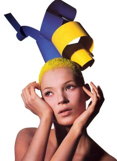 Vogue US July 1994 - Kate Moss by Irving Penn