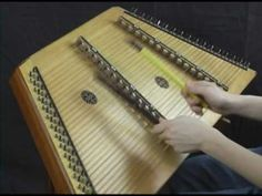 IRISH WASHERWOMAN......     Hammer Dulcimer Played With Household Items.  HOW is the sound of each note  altered by the choice of each household item that is used on the DULCIMER ... ?  ( don't have to play the WHOLE thing.. )
