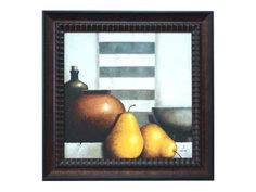 Take everyday objects and punctuate them with the vitality of fresh fruit. Check out the Still Life II Framed Artwork