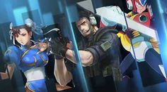 SEGA, CAPCOM and Namco Bandai All In One Game - Project X Zone #Trailer