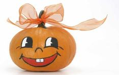 10 Enchantingly Easy Pumpkin Designs - - Looking for ideas for decorating your pumpkins for Halloween? Here are some enchantingly easy Halloween…. Pumpkin Face Paint, Pumpkin Art, Baby In Pumpkin, Cute Pumpkin, Little Pumpkin, Pumpkin Carving, Pumpkin Painting, Easy Pumpkin Faces, Easy Pumpkin Designs
