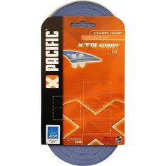 Pacific XTR Tennis OverGrip (30 pk) - ORANGE by Pacific. $29.95. Comfort performance perspiration absorption Pacifics Xtr Grip 30 Pack Overgrips in orange have them all This overgrip features a dry feel as opposed to a tacky feel This value pack comes with 30 of Pacifics popular overgrips
