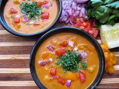 Raw Vegan Gluten Free Tomato Gazpacho Soup